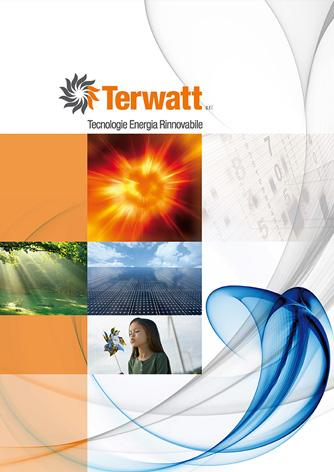 Brochure Terwatt - Biancolapis - Design per la comunicazione