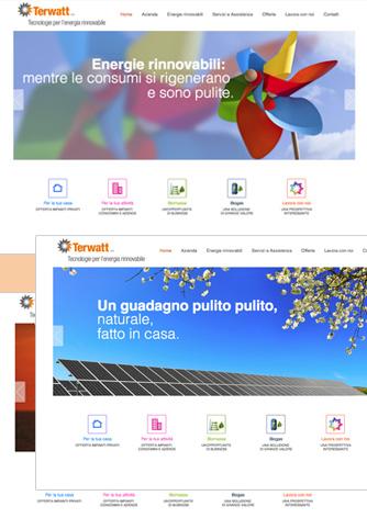 Progetto del sito web - Biancolapis - Design per la comunicazione