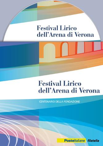 DVD Folder Filatelico Festival Lirico dell'Arena di Verona - Biancolapis - Design per la Comunicazione